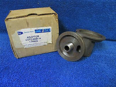 1965 Ford Van ?  Oil Filter Adaptor  Nos Ford 116