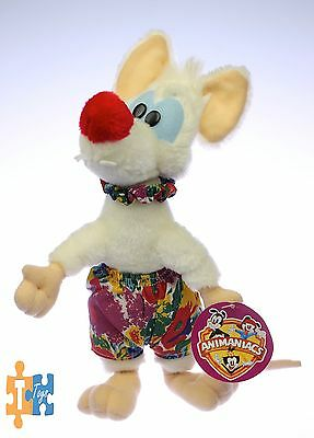"PINKY & the Brain Hawaiian Shorts 11 1/2"" Ace 1997 Plush Figure ""NEW"""