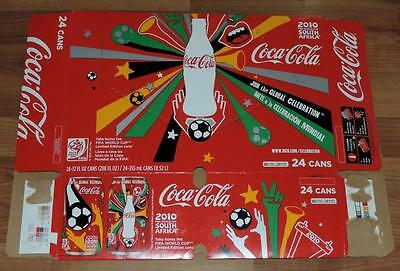 2010 Usa Coca-Cola Fifa World Cup South Africa 24-Pack Empty Can Carton/case