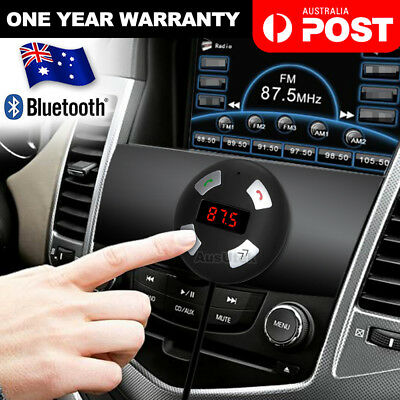 Wireless Bluetooth Car Kit FM Transmitter Radio MP3 Player USB Charger Handsfree