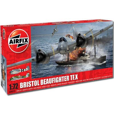 AIRFIX A04019 Bristol Beaufighter TF.X 1:72 Aircraft Model Kit