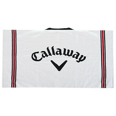 Callaway Golf Tour Towel - New Cotton Microfiber Absorbent Club Embroidered
