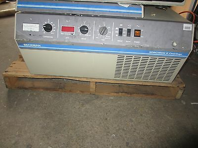 Beckman Coulter Spinchron R Refrigerated Centrifuge UNTESTED