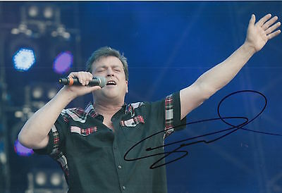 Les McKeown Hand Signed 12x8 Photo Bay City Rollers 3.