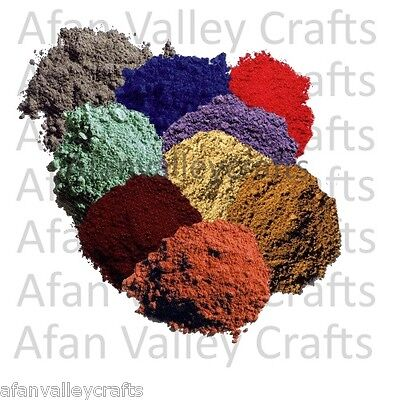 Bolgers Earth Pigment Powder 50g Colour Choice - Multi Buy Discounts Available
