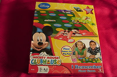 NEW Disney Mickey Mouse Clubhouse Floor I Remember Memory Game