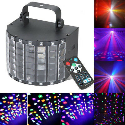 Sound Active LED Light Laser RGBW Stage Effect Lighting Club Disco DJ Party Bar