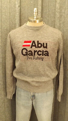Vtg  Abu Garcia Pro-Fishing Sweater EUC sz Medium