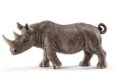 Schleich 14743 Rhinoceros Toy Rhino Wild Animal Model - NIP
