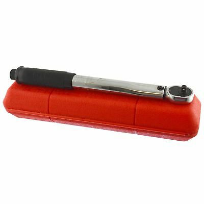 "1/4"" Drive Ratchet Click Torque Wrench 2.3 - 23Nm 1.7 - 17 ft/lbs Motorbike Bike"