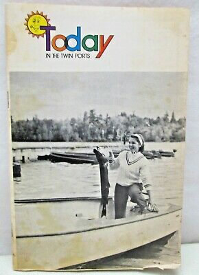 Vintage Today In The Twin Ports St Paul Mn TV Digest 1972 Newspaper Supplement