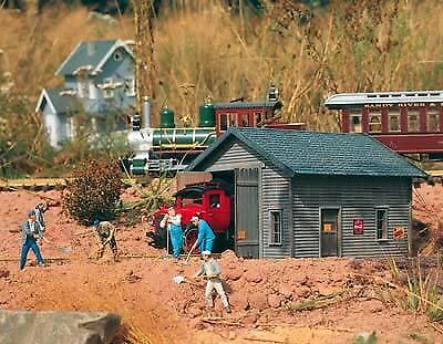 Piko G Scale Track Inspection Shed   Bn   62232