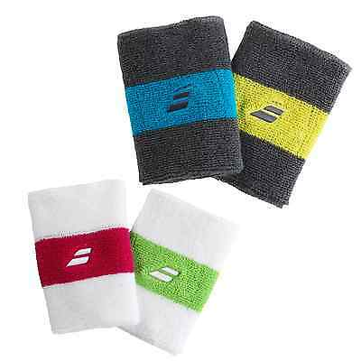Babolat Reversible Jumbo Wristbands - Choice Of Colours - Free P&P