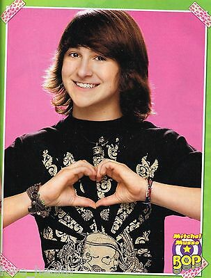 """MITCHEL MUSSO - DYLAN & COLE SPROUSE - 11"""" x 8"""" MAGAZINE PINUP - POSTER"""