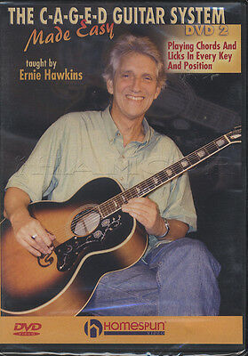 The C-A-G-E-D Guitar System Made Easy DVD 2 Ernie Hawkins Playing Chords & Licks