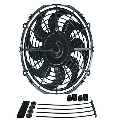 """Derale 18910 Dyno-Cool 10"""" Curved Blade Electric Fan"""