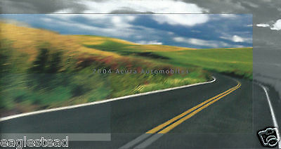 Auto Brochure - Acura - Product Line Overview - 2004 (AB867)
