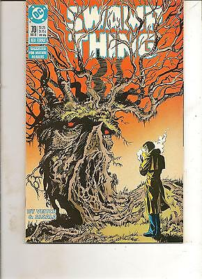 Swamp Thing #70 (1988) D.c. Comics Fn+