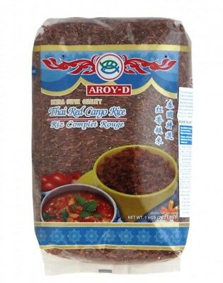 (3,09€/1kg) [ 1kg] AROY-D Roter Reis / Thai Red Cargo Rice / Extra Super Quality