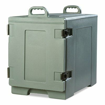 Slate Blue Carlisle PC300N59 Cateraide Insulated Front End Loading Food Pan Car