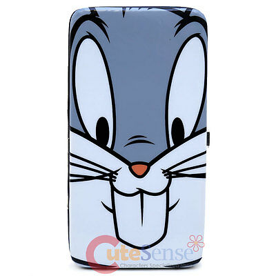 Looney Tunes Bugs Bunny Wallet Hinge Wallet Check Book Flat Card Holder