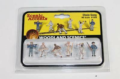HO Scale Woodland scenics Chain Gang A1858  FNQHobbys (S036)