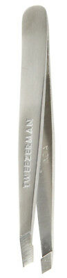 Tweezerman Classic Stainless Steel SLANT TWEEZER Slanted Tip Eyebrow Tweezers
