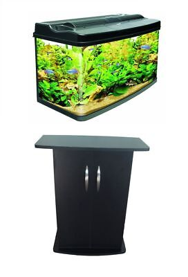 Interpet Fish Pod 120 Litre Aquarium Tank Complete Set Up Coldwater Tropical • EUR 142,24