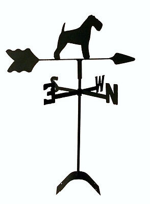 Lakeland Terrier Garden Weathervane Wrought Iron Look Made In Usa Tls1042In