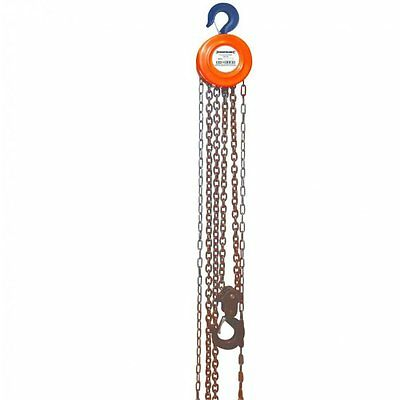 1 Tonne Chain Block & Tackle Hoist Engine Lifting 1 Ton Winch 633705 1000kg NEW