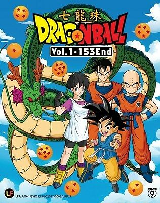 DRAGON BALL Box Set | Episodes 001-153 | English Subs | 6 DVDs (M0879)-LU