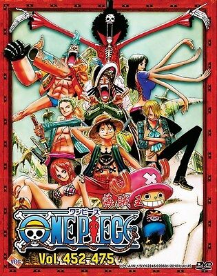 ONE PIECE TV Box 10   Episodes 452-475   English Subs   6 DVDs (VBG0068)-LU