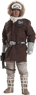 """STAR WARS V The Empire Strikes Back Han Solo Hoth 1:6 Scale 12"""" Figure SIDESHOW"""