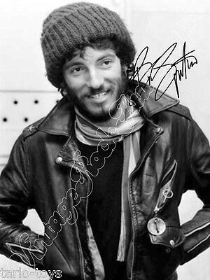 BRUCE SPRINGSTEEN - print signed photo - foto con autografo stampato