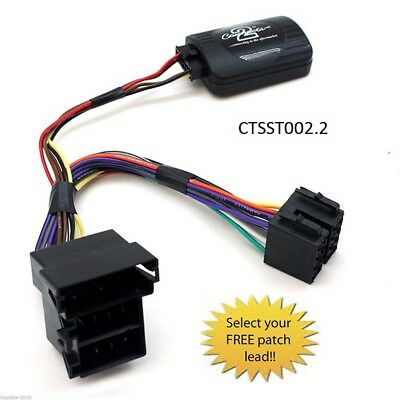 Ctsst002.2 Seat Ibiza Up To 2008 Steering Wheel Stalk Control Interface Lead