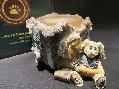 Daphne in the Cabbage Patch Boyds Bearstone Votive Holder #27750 & Box 2E/2537