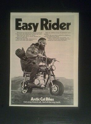 1971 Arctic Cat Easy Rider Motorcycle Motor Bike AD