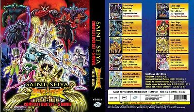 SAINT SEIYA Box Set | TV Series+5 Movies | 192 Episodes | 11 DVDs (VS0051)-LU