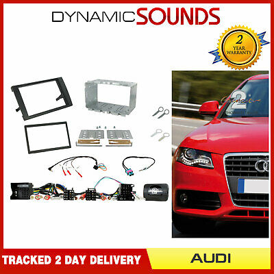 CTKAU04 Car Stereo Double Din Fascia Installation Kit For Audi A4 (2007 - 2009)