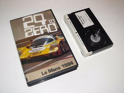 Betamax Video ~ 24 to Zero: Le Mans 1984 ~ Pre-Cert ~ Duke Marketing
