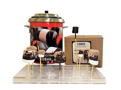 Ideal low cost start up cash business Choco-marshmallow kebab system