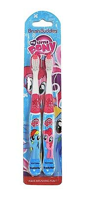 My Little Pony Soft Toothbrush 2 Pack
