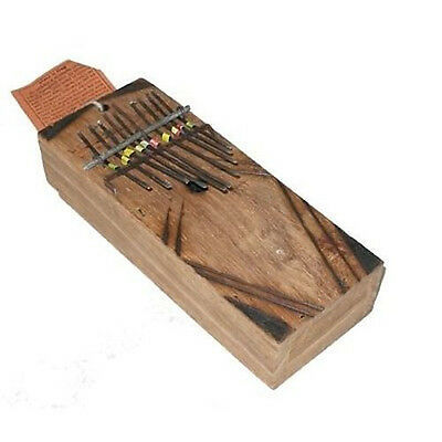 Fair Trade Traditional African Hand Percussion Kalimba Thumb Finger Piano