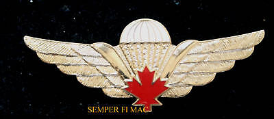 XL CANADIAN PARATROOPER WING Parachutist BADGE PIN AIRBORNE SSF CANADA GIFT WOW
