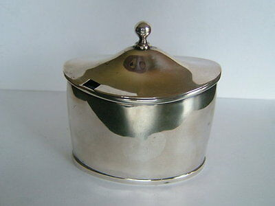 ANTIQUE GEORGE III, ENGLISH STERLING SILVER MUSTARD POT LONDON c1799