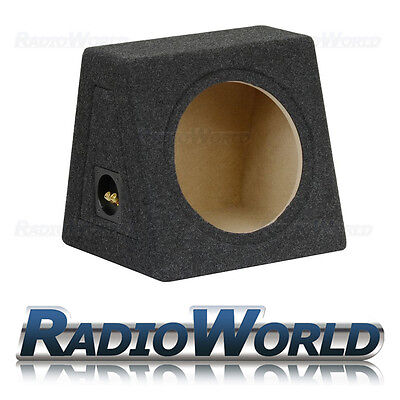 "15L 10"" MDF Sub Box Subwoofer Enclosure Bass Empty Enclosure Grey Carpet"