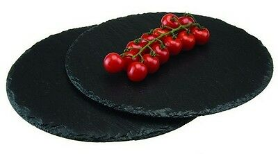 Slate Round Placemats Pack of 2