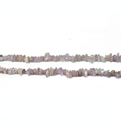 Kunzite Chip Beads 4-6mm Lilac 160+ Pcs Handcut Gemstones DIY Jewellery Making