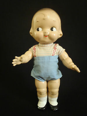 Antique/Vintage Delightful 1948 composition Dolly Dingle Campbell Kid
