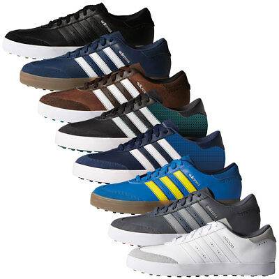 Adidas Golf 2017 Mens Adicross V WD Spikeless Golf Shoes - Wide Fit